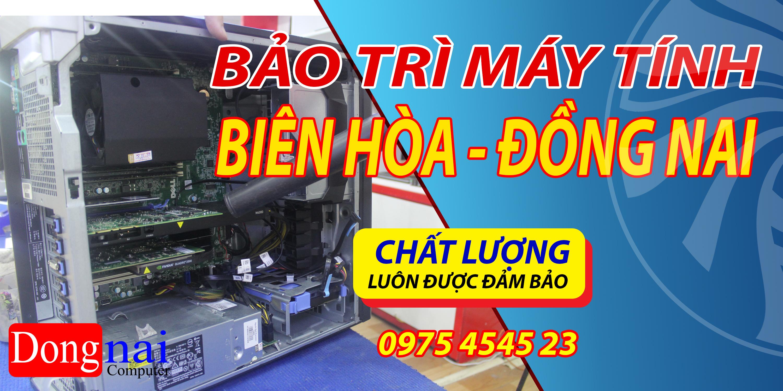 Bảo trì máy tính uy tín Biên Hòa