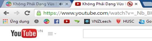 Tắt âm thanh tab trên Chrome