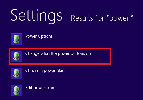 Kích hoạt chế độ Hibernate trên laptop Windows 8