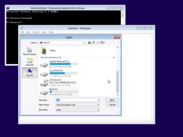 Khắc phục lỗi không thể Boot vào Windows 8.1