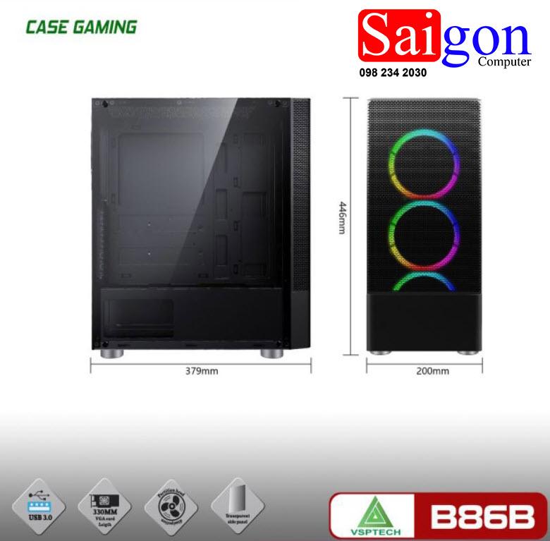 Case VSP-B86B Đen giá rẻ