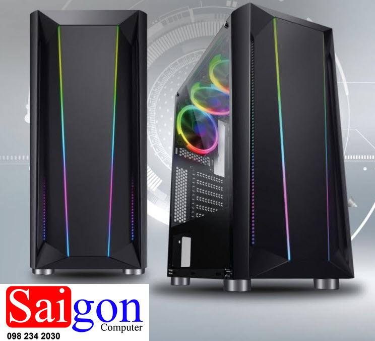 Case Vision B16 Gaming LED RGB giá rẻ