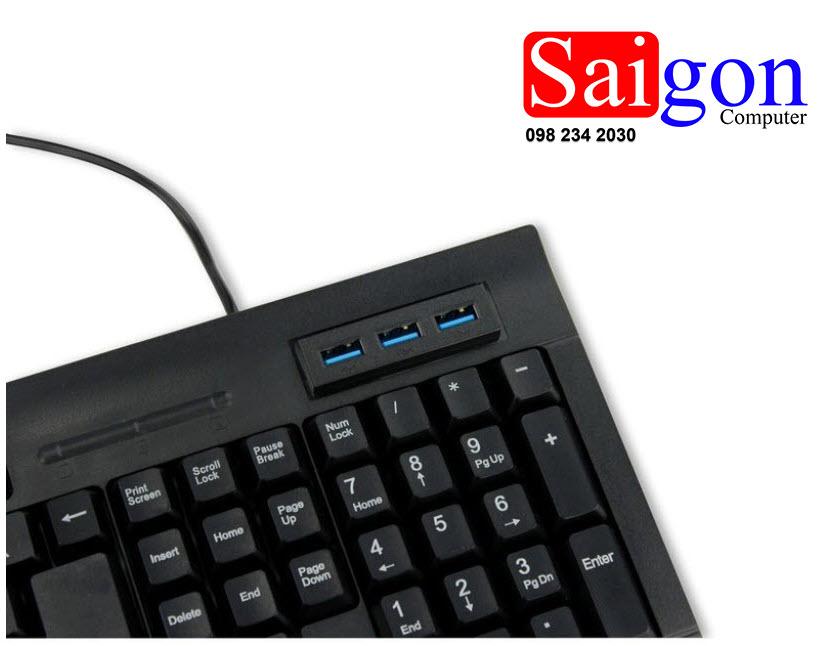 Keyboard VISION GM 145 USB văn Phòng