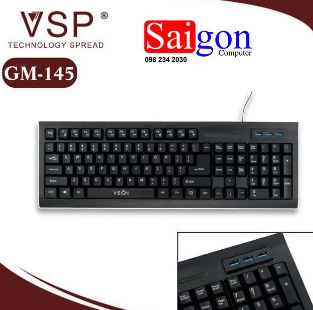 Keyboard VISION GM 145 Chính hãng