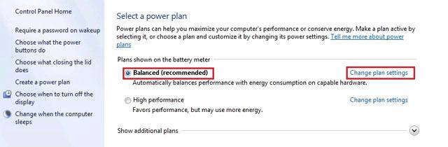 Khắc phục laptop ở chế độ ngủ nhưng khi bật lại không lên