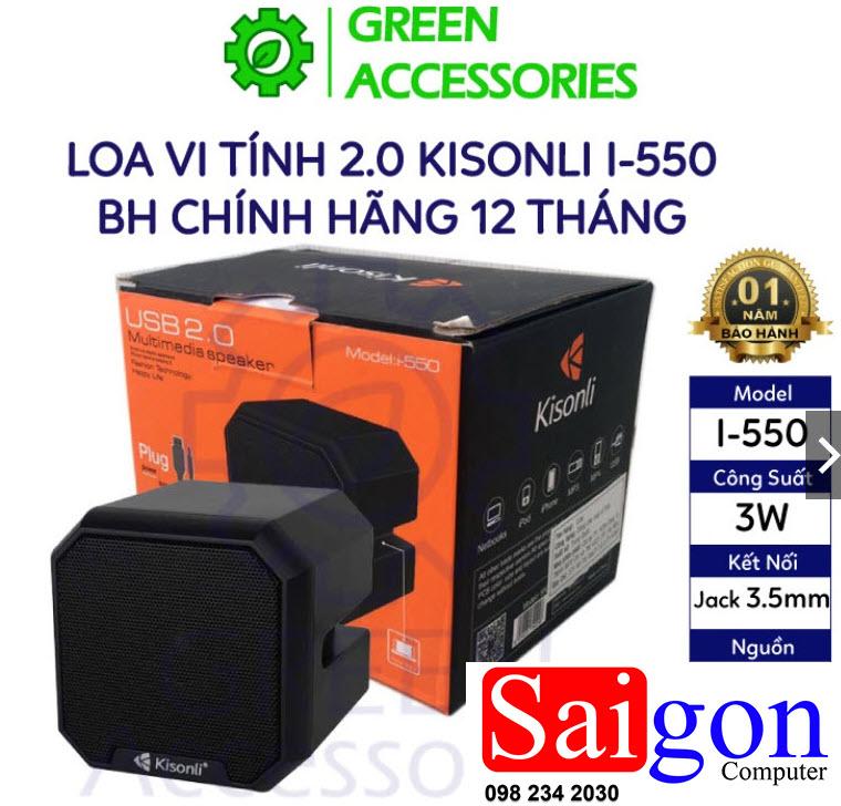 Loa 2.0 Kisonli i-550 giá rẻ