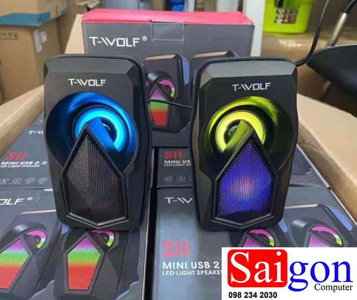 Loa 2.0 T-WOLF S11 led giá rẻ