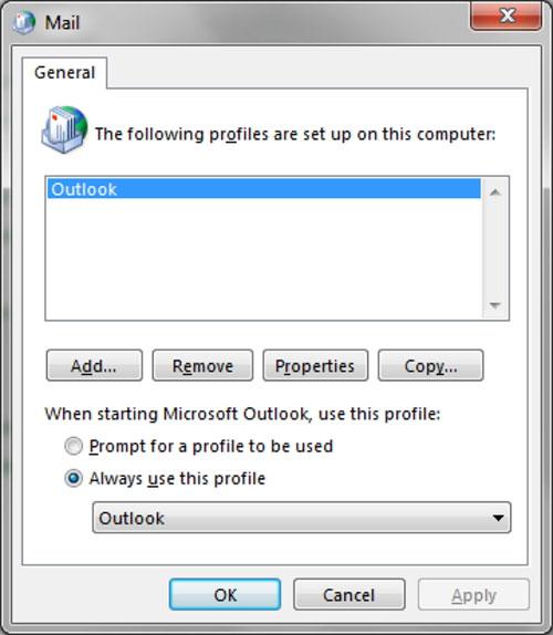 Cách khắc phục sự cố kết nối trên Outlook