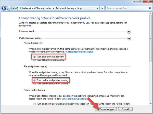 Sửa lỗi Printer settings could not be saved_3