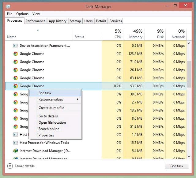 """5 Cách để xóa một tập tin đang """"treo"""" trong Windows"""