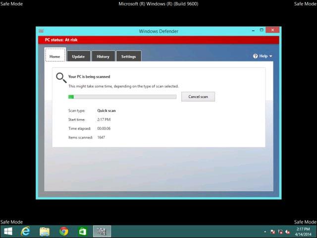 Cách quét và sửa lỗi cho Windows từ bên ngoài