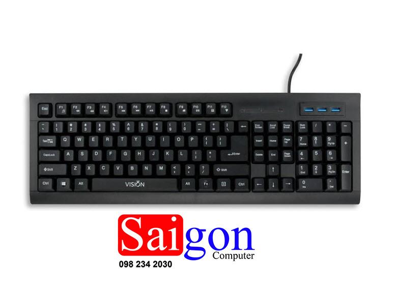 bàn phím VISION GM 145 USB