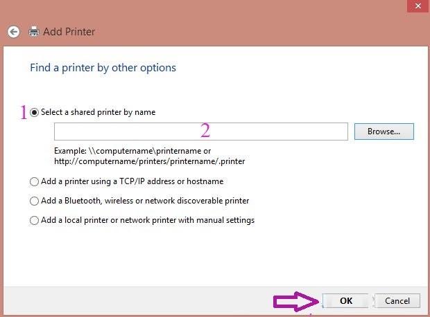 Các bước chia sẻ máy in qua mạng LAN_3
