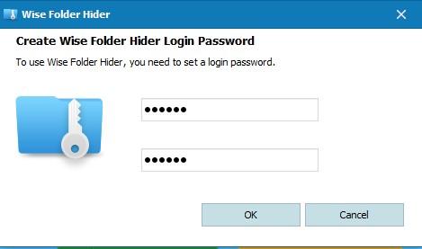 Đặt mật khẩu cho folder