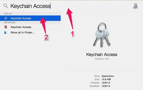 Hướng dẫn xem lại mật khẩu wifi trên máy macbook