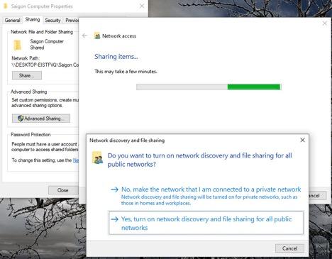 Cách Tạo Thư Mục Chia Sẻ Trên Mạng Cục Bộ Windows 10 - AN PHÁT