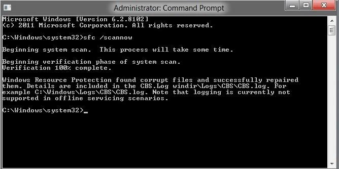 Sửa lỗi Windows detected a hard disk