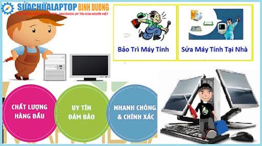 Sửa laptop uy tín ở đâu Thủ Dầu Một