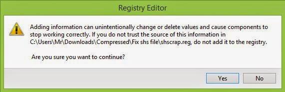 Hướng dẫn đọc file đuôi .shs trên Windows 7/8