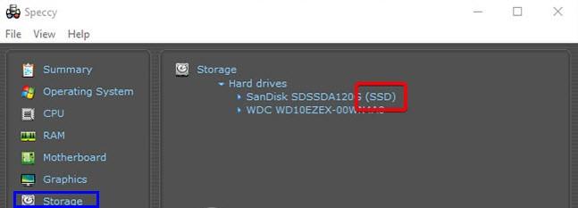 Cách kiểm tra máy tính dùng ổ cúng SSD hay HDD_3