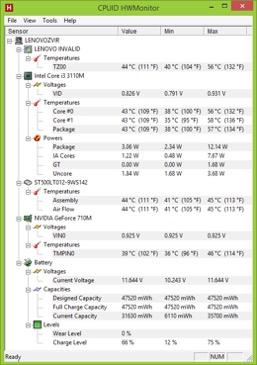 Kiểm tra mức độ chai pin của laptop