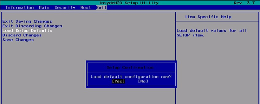 Lỗi reboot and select proper boot device