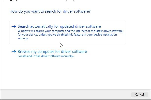 Máy tính báo lỗi usb device not recoginzed