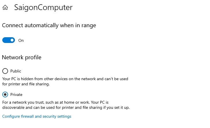 không tìm thấy máy tính trong mạng Lan