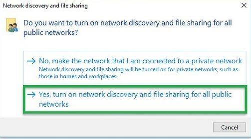 chia sẻ máy tính trong mạng lan
