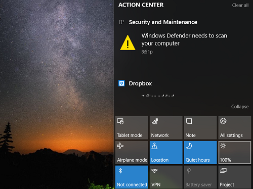Hướng dẫn điều chỉnh độ sáng màn hình trong Windows 10