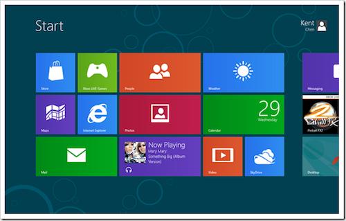 Những phím tắt cho Windows 8