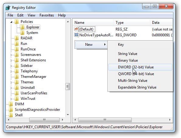 Hướng dẫn cách ẩn Control Panel trên máy tính Windows 7