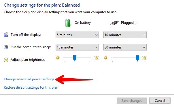Sửa lỗi Laptop gần hết pin không hiện thông báo