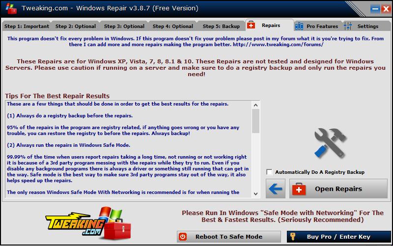Phần mềm fix lỗi Windows