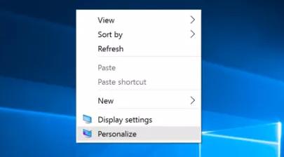 Cách hiện My Computer trên Desktop trong Windows 10