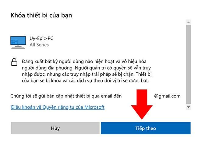 Cách khóa PC từ xa trên Windows 10