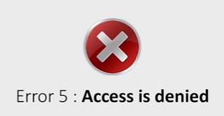Khắc phục lỗi Access is denied trong Windows 10