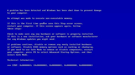 Khắc phục lỗi Attempted Execute.... trên Windows 10