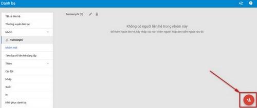 Hướng dẫn cách tạo nhóm trong Gmail