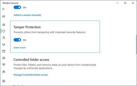 Kích hoạt tính năng bảo mật mới trên Windows 10