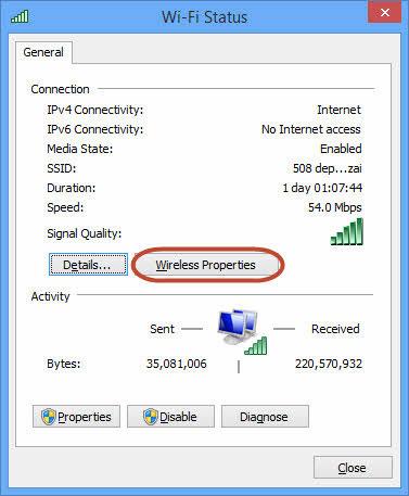 Cách xem lại password Wi-Fi đã kết nối trên Windows 7, 8