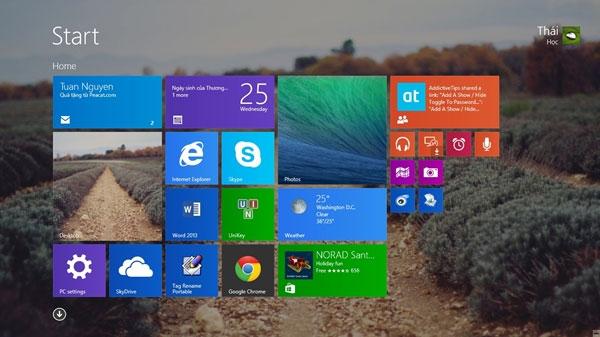 Tinh chỉnh lại Start Menu của riêng Windows 8.1