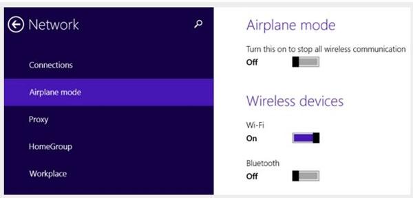 Cách chia sẻ Internet không dây trong Windows 8
