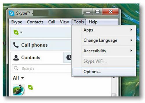 Thủ thuật xóa lịch sử của Skype