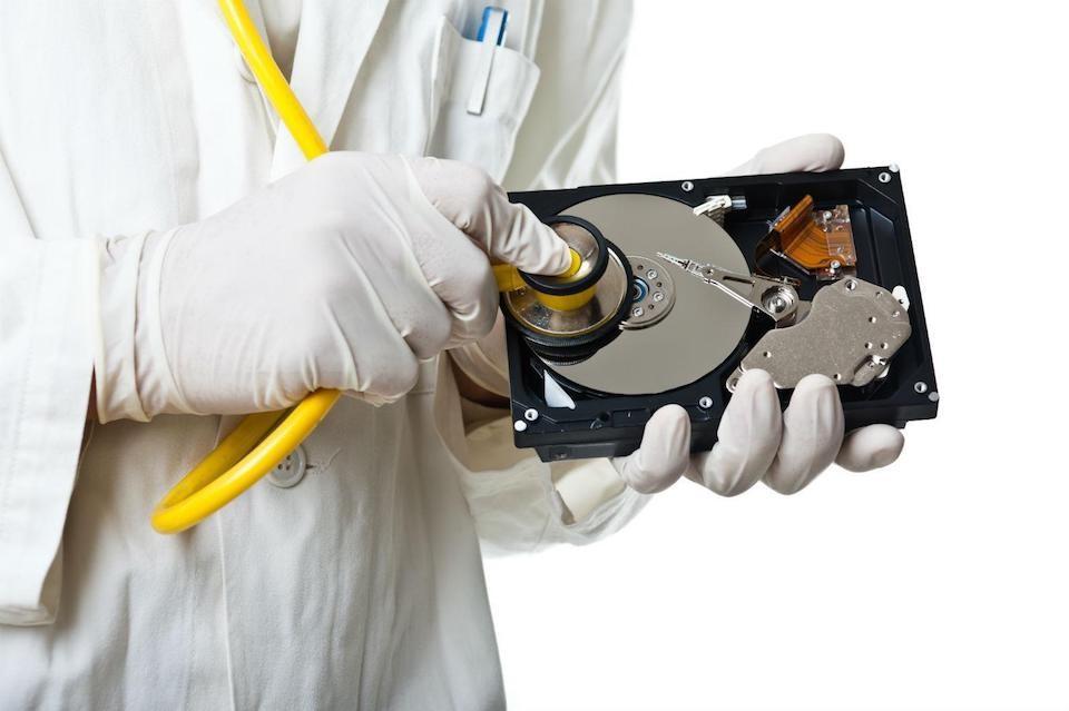 Nhận biết ổ cứng bị hư