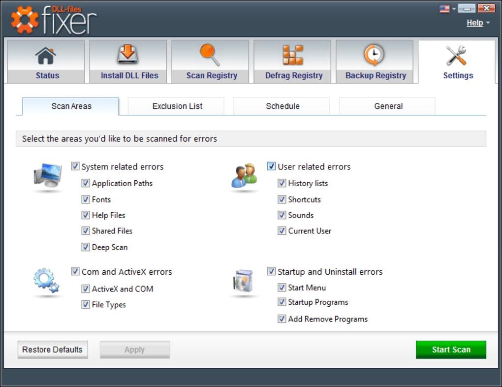 Phần mềm DLL files Fixer