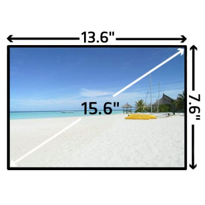Màn hình laptop samsung 15.6 W(LED)