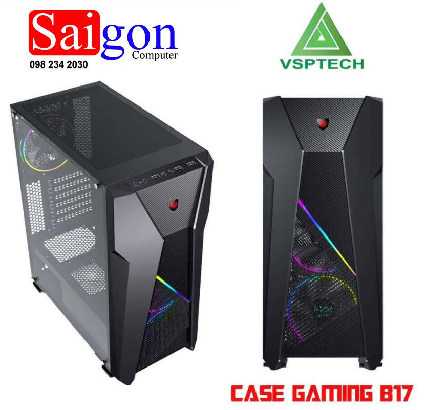 Case Vision B17 Gaming LED RGB