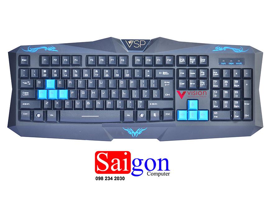 Keyboard VISION G9 USB Gaming Chính Hãng
