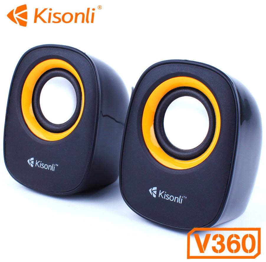 Loa vi tính Kisonli V360 Chính hãng | Trung Tâm Sửa Chữa Laptop và Phục Hồi  Dữ Liệu SaiGon Computer